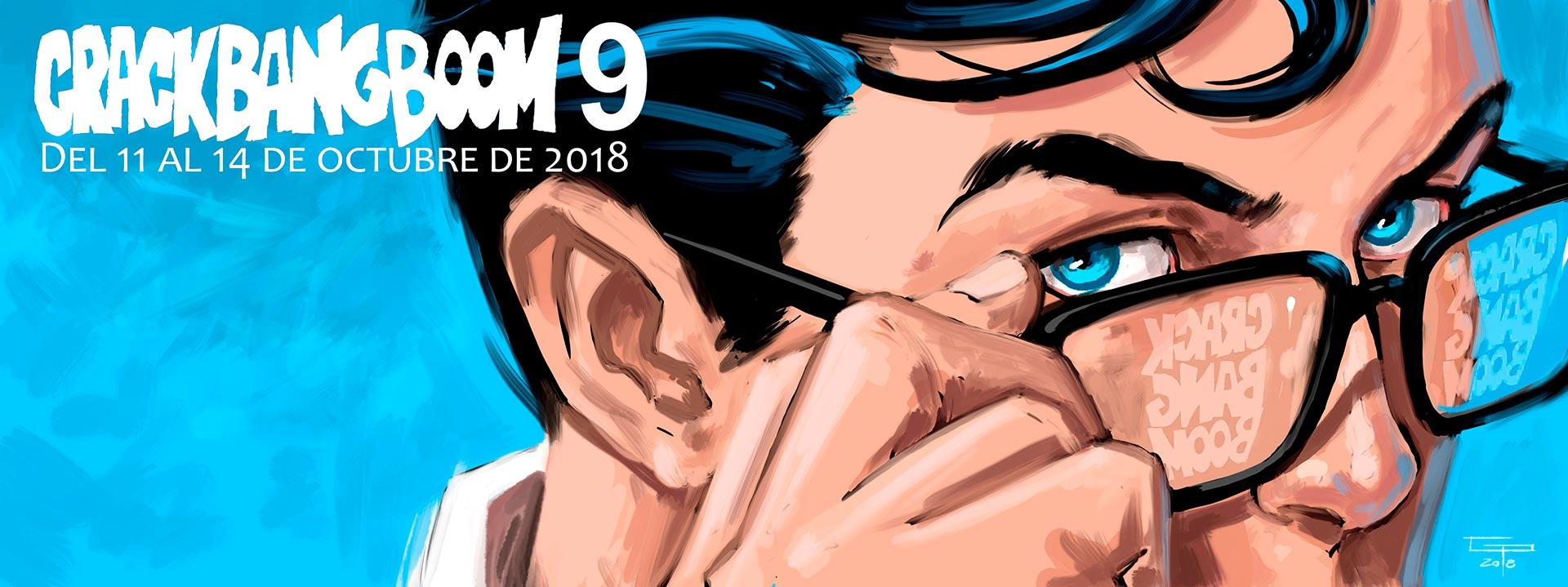 [EVENTO] Crack Bang Boom 9 Del 11 al 14 de octubre de 2018. Banner-2018